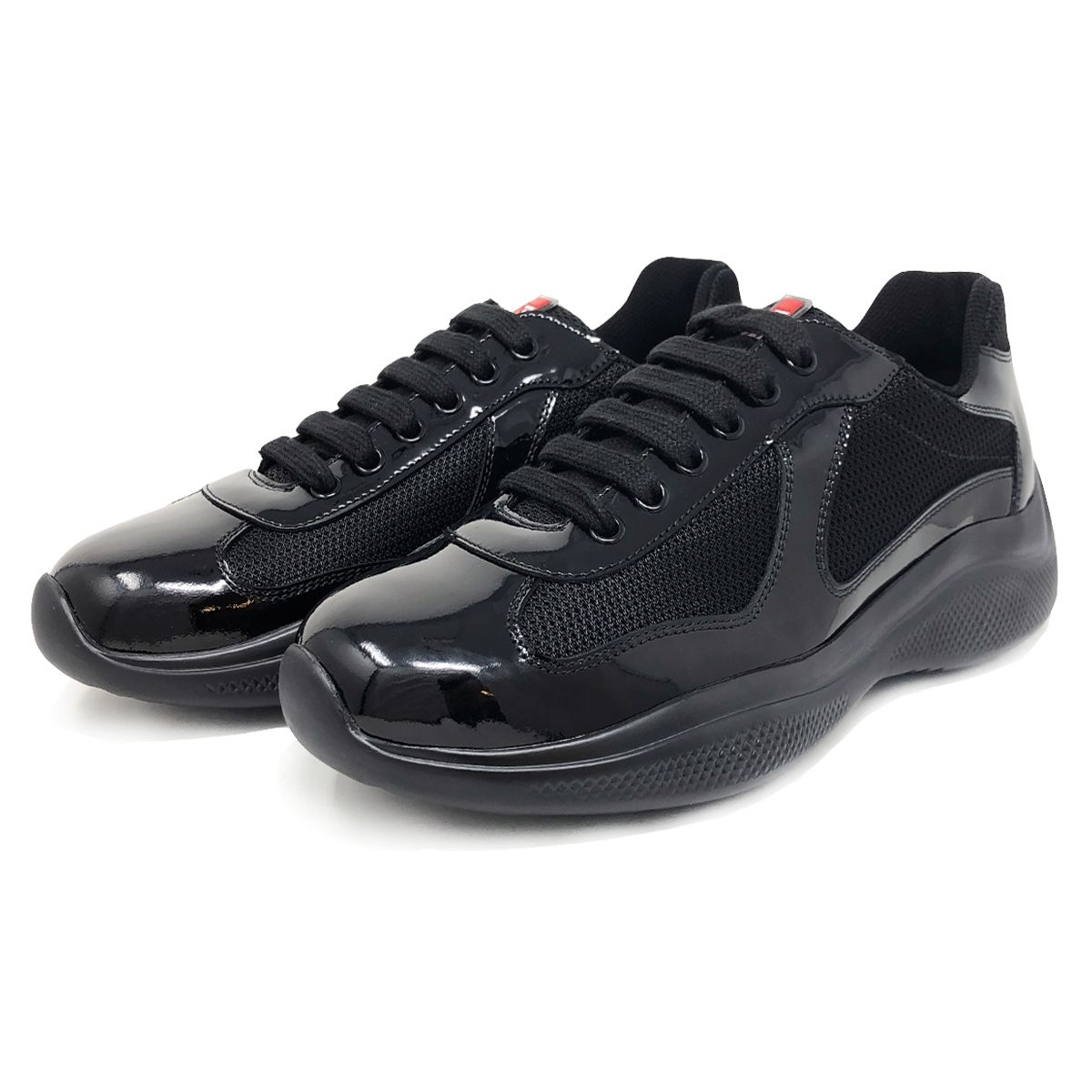 Prada Patent Leather And Technical