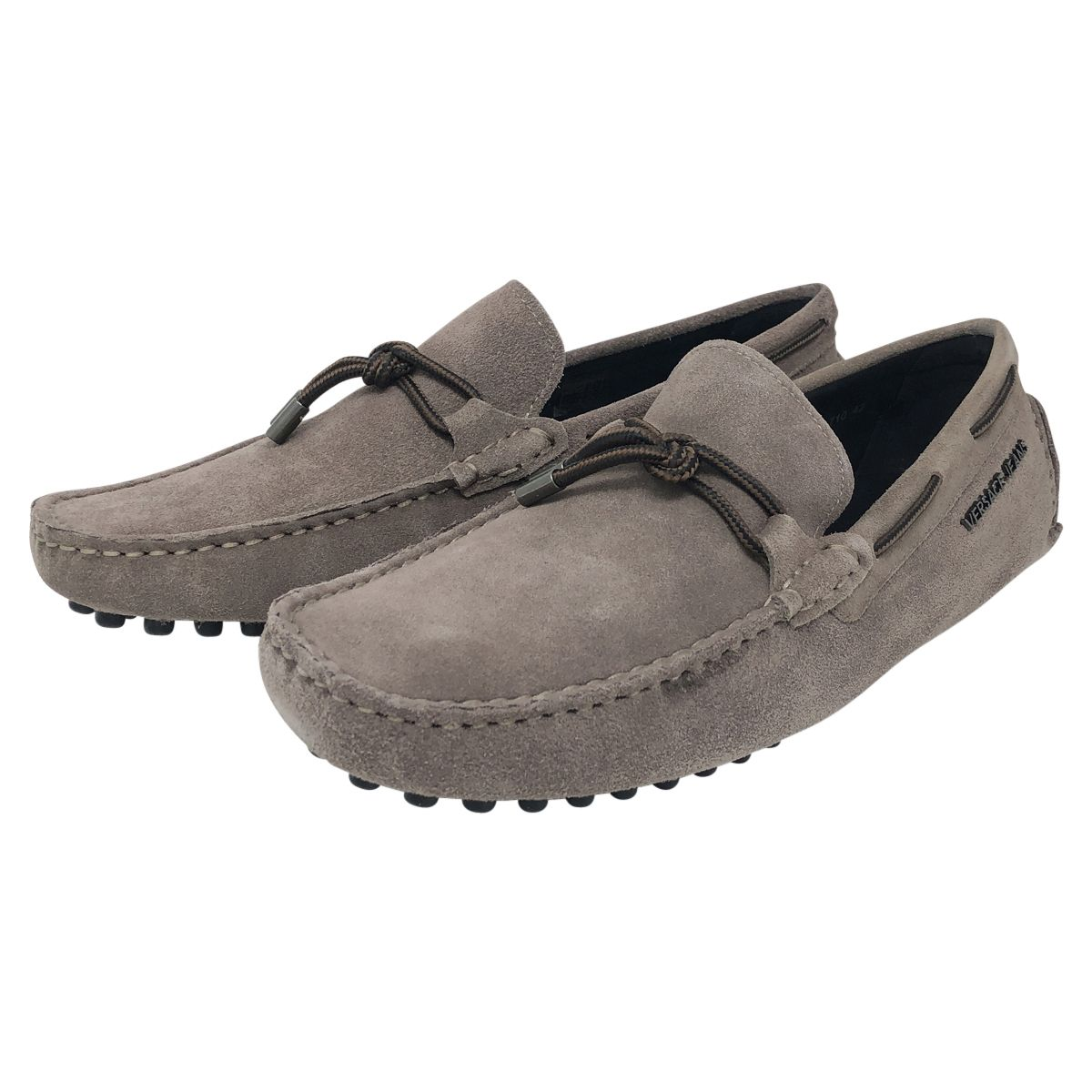 Versace Jeans Suede Loafers
